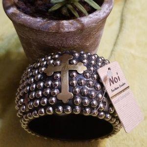 New NOI Byzantine Chunky Beaded Bracelet